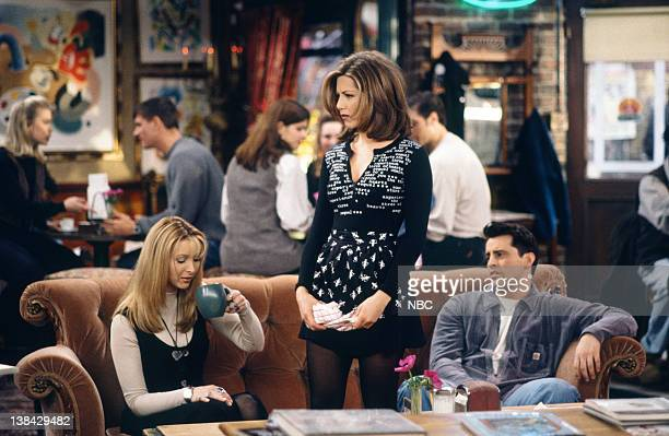FRIENDS 'The One After the Superbowl Part 2' Episode 13 Air Date Pictured Lisa Kudrow as Phoebe Buffay Jennifer Aniston as Rachel Green Matt LeBlanc...
