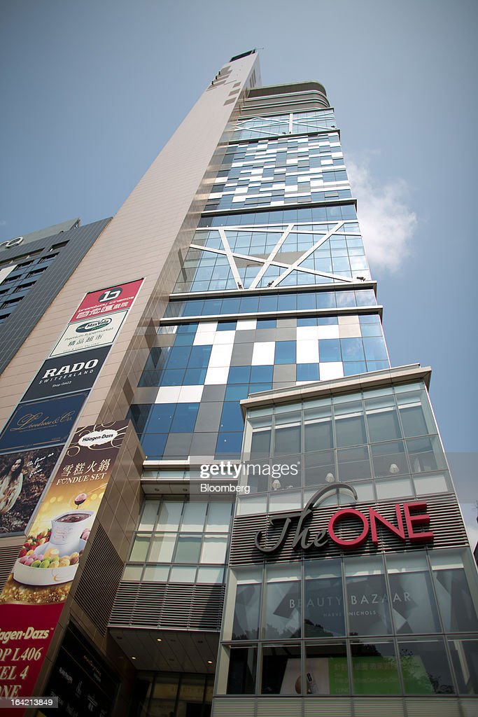 The One shopping mall, operated by Chinese Estates Holdings Ltd., stands in the Tsim Sha Tsui district of Hong Kong, China, on Wednesday, March 20, 2013. Hong Kong's GDP expanded 2.5 percent last quarter from a year earlier, the most in a year, an end to what was the weakest annual expansion since 2009. Photographer: Lam Yik Fei/Bloomberg via Getty Images