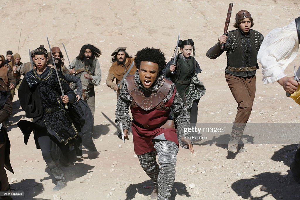 GALAVANT - 'The One True King (To Unite Them All)' - Under Madalena and Wormwood's spell, the zombie army revolt against Galavant and company, until Sid arrives with an unlikely army of his own. Galavant, Gareth, and Sid's army battle the Zombies while Isabella fights Madalena. Meanwhile, Richard goes after Wormwood, who attacks Tad Cooper, which provokes Richard to perform a (nearly) heroic act. Elsewhere, Gareth tries to reason with Madalena, but she is driven to learn how to use her newly acquired dark magic. At the end of the day, who will get their happily ever after on 'Galavant'? The episode airs SUNDAY, JANUARY 31 (8:30--9:00 p.m. EST) on the ABC Television Network. YOUNGBLOOD