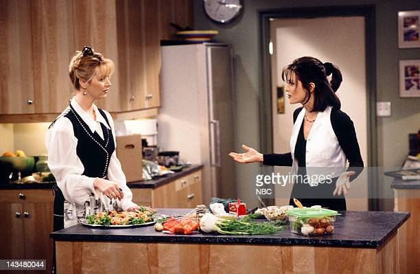FRIENDS 'The One Where Ross and Rachel You Know' Episode 15 Air Date Pictured Lisa Kudrow as Phoebe Buffay Courteney Cox as Monica Geller