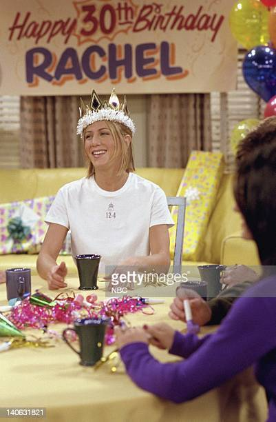 FRIENDS 'The One Where They All Turn 30' Episode 14 Aired 2/8/2001 Pictured Jennifer Aniston as Rachel Green Photo by NBCU Photo Bank