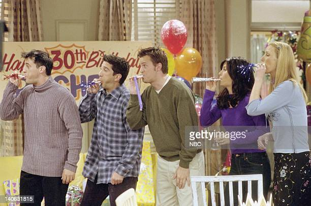 FRIENDS 'The One Where They All Turn 30' Episode 14 Aired 2/8/2001 Pictured Matt LeBlanc as Joey Tribbiani David Schwimmer as Ross Geller Matthew...