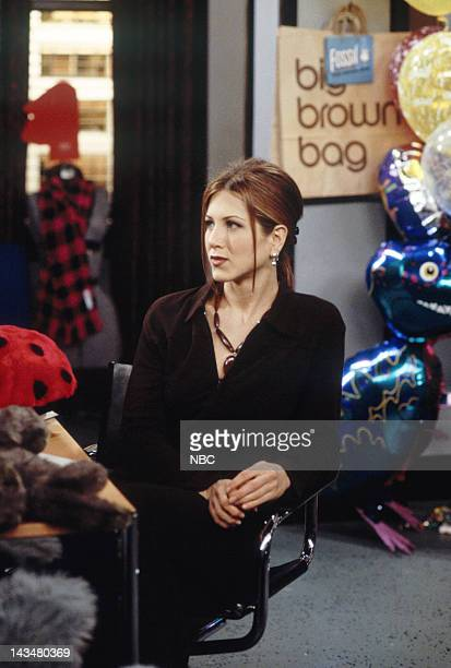 FRIENDS 'The One with All the Jealousy' Episode 12 Pictured Jennifer Aniston as Rachel Green
