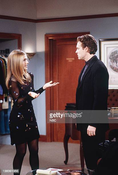 FRIENDS 'The One with Rachel's Crush' Episode 13 Pictured Jennifer Aniston as Rachel Green Tate Donovan as Joshua Bergen