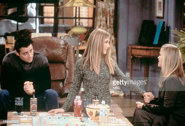 FRIENDS 'The One with Rachel's Sister' Episode 13 Pictured Matt LeBlanc as Joey Tribbiani Jennifer Aniston as Rachel Green Reese Witherspoon as Jill...
