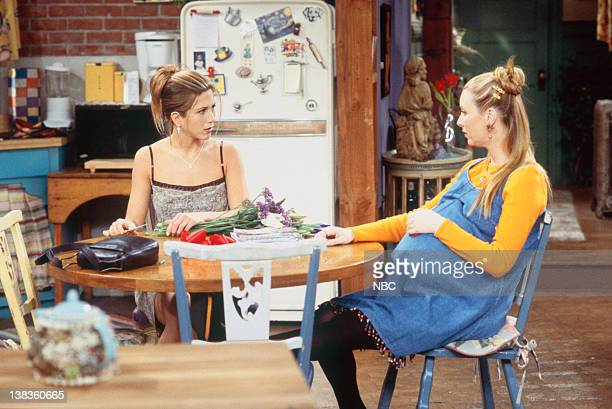 FRIENDS 'The One with Ross's Wedding Part 1' Episode 23 Pictured Jennifer Aniston as Rachel Green Lisa Kudrow as Phoebe Buffay