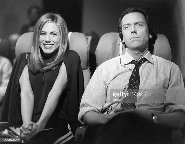 FRIENDS 'The One with Ross's Wedding Part 2' Episode 23 Air Date Pictured Jennifer Aniston as Rachel Green Hugh Laurie as The Gentleman on the Plane
