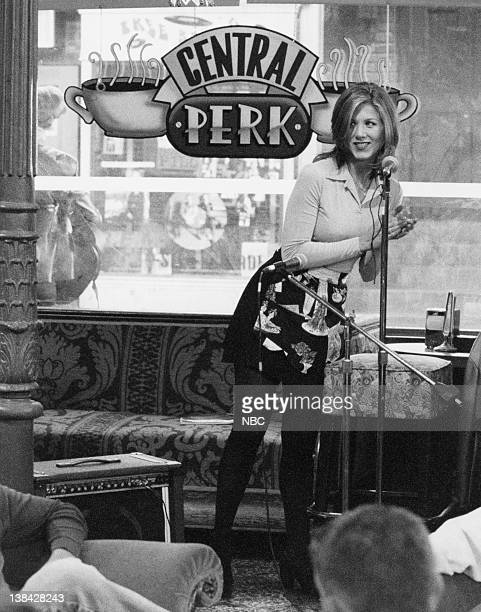 FRIENDS 'The One with the Baby on the Bus' Episode 6 Air Date Pictured Jennifer Aniston as Rachel Green