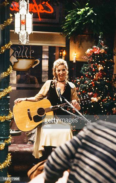 FRIENDS 'The One With the Monkey' Episode 110 Pictured Lisa Kudrow as Phoebe Buffay