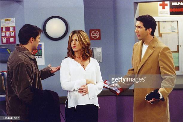 FRIENDS The One with the Secret Closet' Episode 14 Aired 1/31/2002 Pictured Matt LeBlanc as Joey Tribbiani Jennifer Aniston as Rachel Green David...