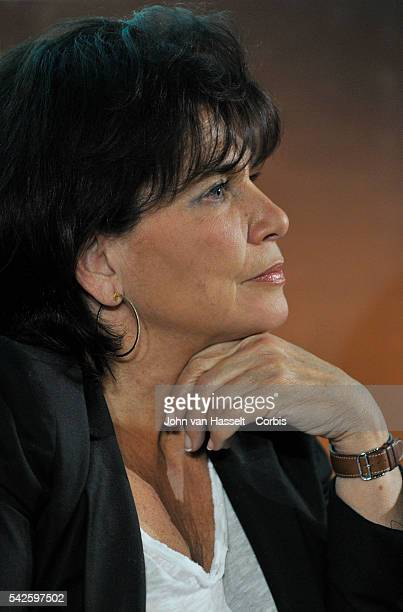 The online Huffington Post in French has named Anne Sinclair wife of Dominique StraussKahn the former managing director of the IMF as editor for its...