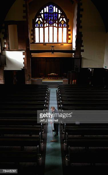 The only Charles Rennie Mackintosh designed church to be built has reopened after a major refurbishment February 28 2007 in Glasgow Scotland The...