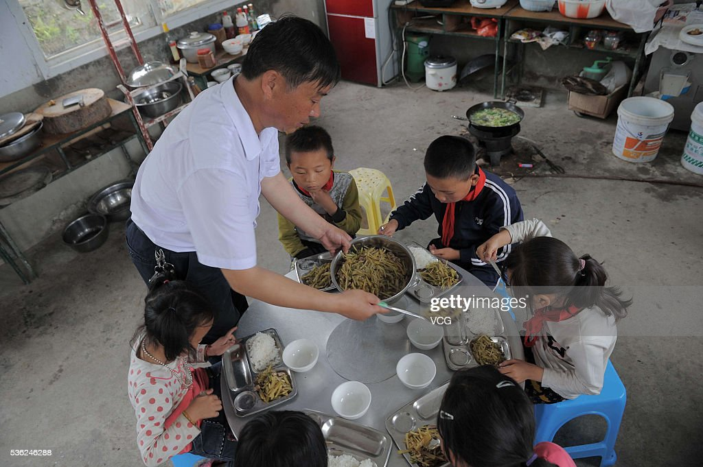 Qiannan China  city images : school in a mountain in Longli County on May 31, 2016 in Qiannan ...