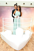 The Only Way Is Essex lovebirds Mario Falcone and Lucy Mecklenburgh open a replica of Rose's cabin at Westfield to launch Titanic on Bluray and...