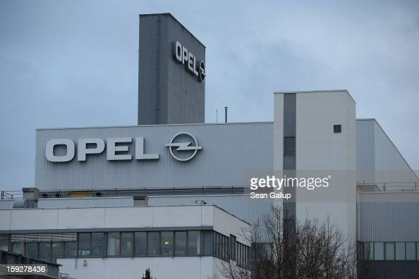 The Opel factory that produces the Corsa and the new Opel Adam car stands on January 10 2013 in Eisenach Germany Opel employees hope the car will...