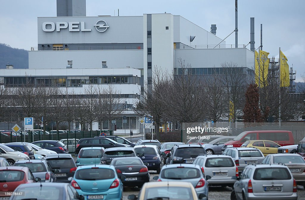 The Opel factory that produces the Corsa and the new Opel Adam car stands on January 10, 2013 in Eisenach, Germany. Opel employees hope the car will help the company return to profits after years of sagging sales and the announcement of the Bochum factory closure in 2016.