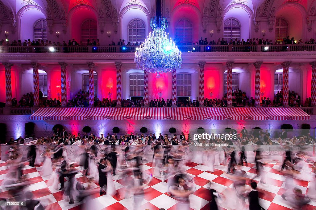 The opening ceremony is seen during the Fete Imperiale summer ball on June 26 2015 in Vienna Austria