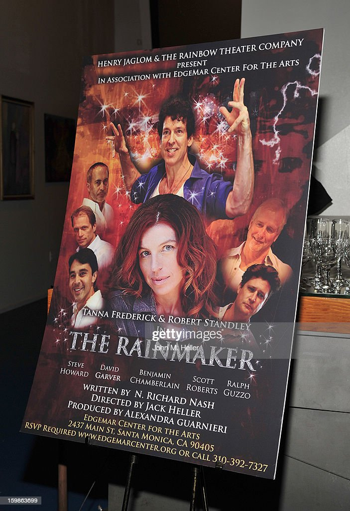 The opening night of 'The Rainmaker' at Edgemar Center For The Arts on January 11, 2013 in Santa Monica, California.