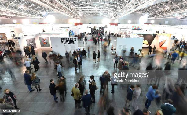 The opening of Artissima International Fair of Contemporary Art on November 2 2017 in Turin Italy