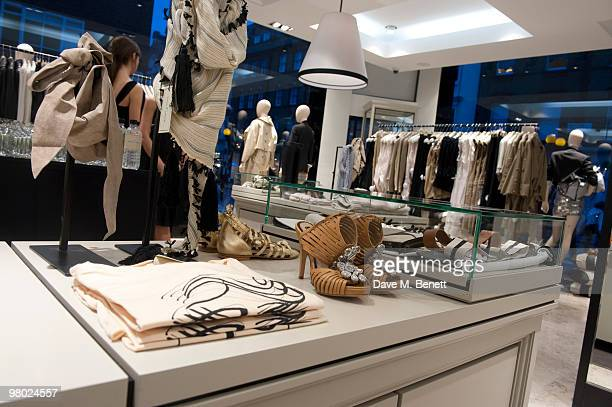 The opening of Danish designer Malene Birger first UK boutique on March 24 2010 in London England