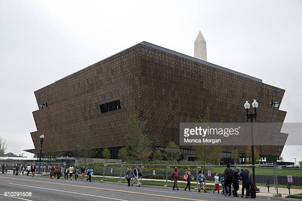 The opening of the National Museum of African American History and Culture on September 24 2016 in Washington DC