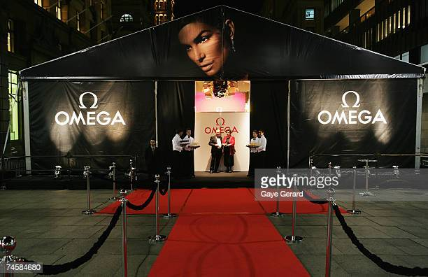 The opening of the new Sydney OMEGA Boutique at Martin Place on June 13 2007 in Sydney Australia An Omega ambassador since 1995 Crawford is the...