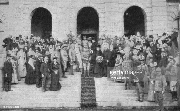 The opening of the Palace of Justice as a Hospital by Lord Roberts' 1900 From Black White Budget Vol III [The Black and White Publishing Company J P...