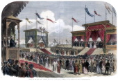 The Opening of the Suez Canal Port Said Egypt 17 November 1869 The opening of the canal which was designed by French engineer Ferdinand de Lesseps An...