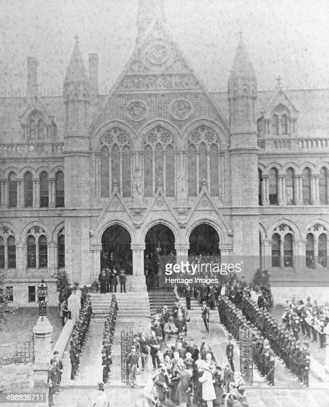 The opening of the University College Nottingham by Prince Leopold Duke of Albany 1881 The University College was opened by HRH Prince Leopold George...