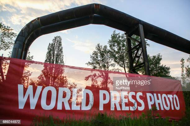 The opening of World Press Photo 2017 exhibition in the former Powerhouse of Royal Iron Works in Chorzow Poland on 26 May 2017 The exhibition of...