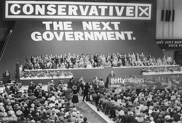 The opening session of the Conservative Party Conference in Brighton 11th October 1978