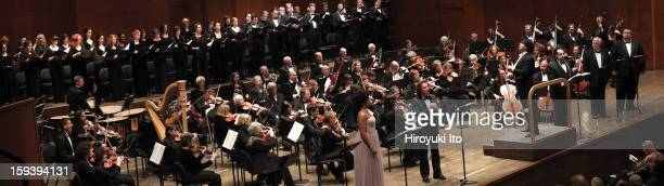 The Opera Orchestra of New York performing Umberto Giordano's 'Andrea Chenier' on Sunday afternoon January 6 2013This imageAlberto Veronesi leading...