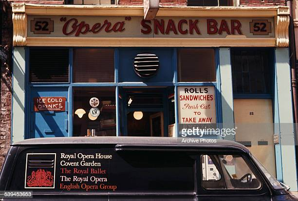 The 'Opera' snack bar in London England August 1969