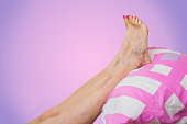 The optimal and therapeutic pose for legs with varicose veins