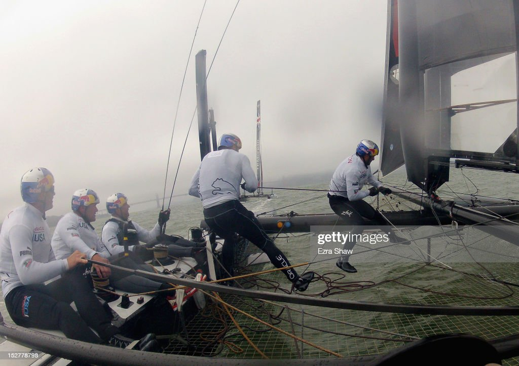 Oracle Racing Training In The Bay
