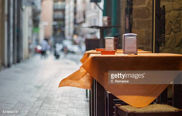 The Orange tablecloth