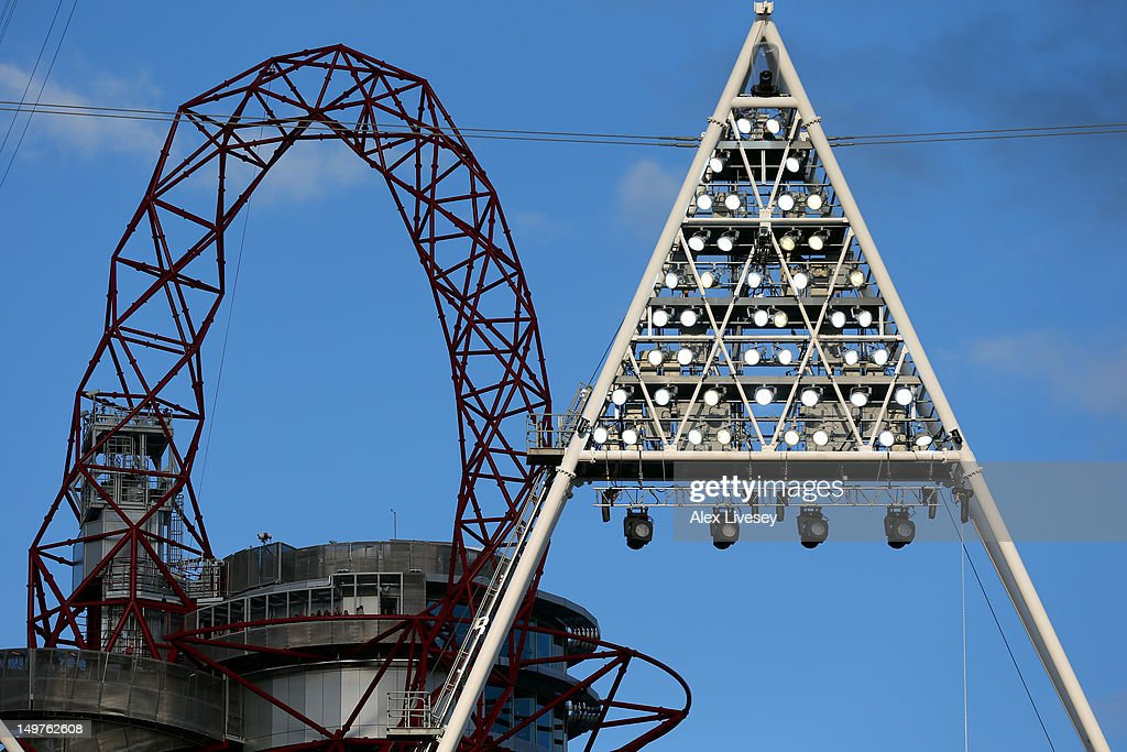 The Orbit is seen on Day 7 of the London 2012 Olympic Games at Olympic Stadium on August 3, 2012 in London, England.