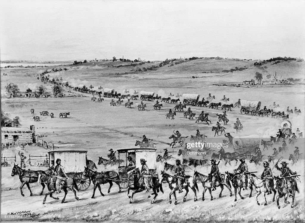The early users of the oregon trail