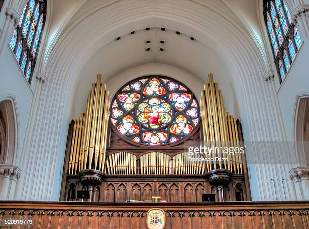 The organ of Denver's Cathedral Basilica