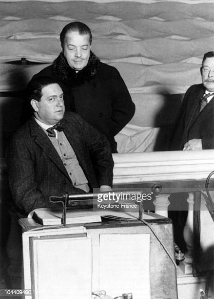 The organizer of Russian performances Serge DIAGHILEFF and the French composer Darius MILHAUD on September 8 1964