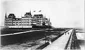 The Oriental Hotel and boardwalk Manhattan Beach Brooklyn New York New York mid 1900s