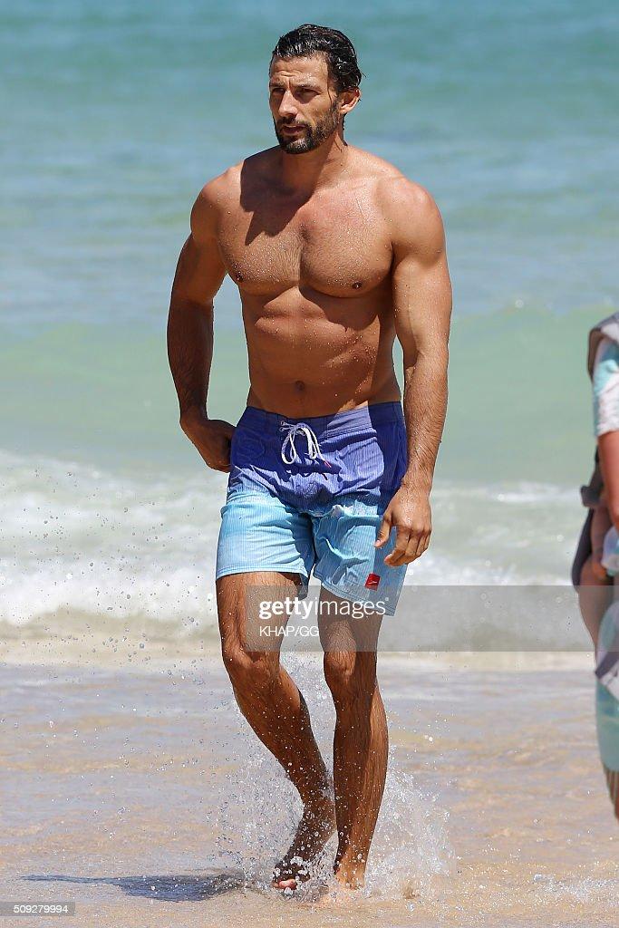 The original Australian Bachelor Tim Robards is seen at Bondi Beach on February 10, 2016 in Sydney, Australia.