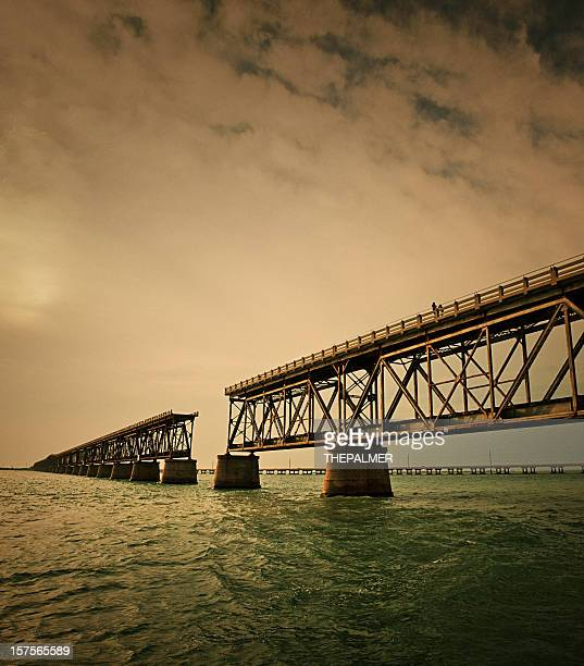 The original Bahia Honda bridge