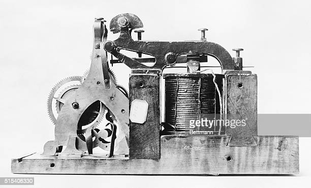 9/28/1923 The original Morse Telegraph Register is one of the receiving instruments used on the telegraph line built by SFB Morse under the auspices...