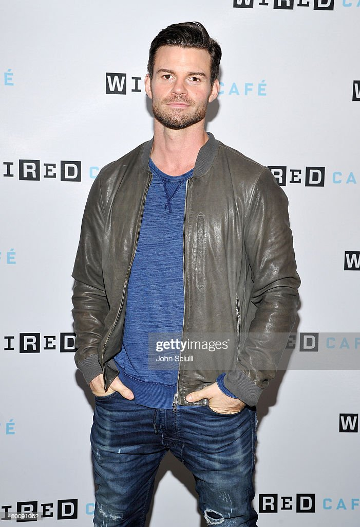 The Originals actor <a gi-track='captionPersonalityLinkClicked' href=/galleries/search?phrase=Daniel+Gillies&family=editorial&specificpeople=675058 ng-click='$event.stopPropagation()'>Daniel Gillies</a> attends WIRED Cafe at Comic Con 2015 in San Diego at Omni Hotel on July 9, 2015 in San Diego, California.