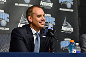 The Orlando Magic introduce new head coach Frank Vogel during a press conference on May 23 2016 at Amway Center in Orlando Florida NOTE TO USER User...