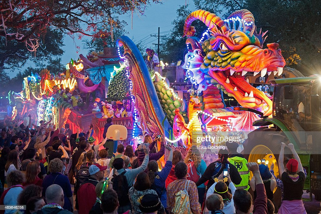 mardi gras 2015 krewe of orpheus parade getty images