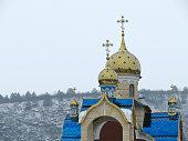 Orthodox temple in the Pridnestrovie, Moldova