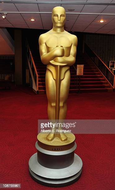 The Oscar statue at the 83rd Academy Awards Final Oscar Ballot Mailing at the Academy of Motion Picture Arts Sciences on February 2 2011 in Beverly...