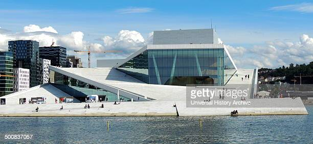 The Oslo Opera House home of The Norwegian National Opera and Ballet and the national opera theatre in Norway The building is situated in the...